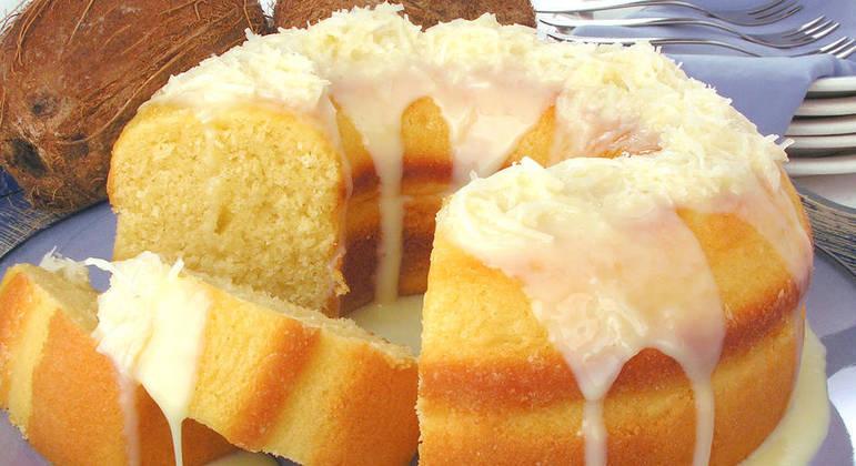 Receitas de bolo cremoso