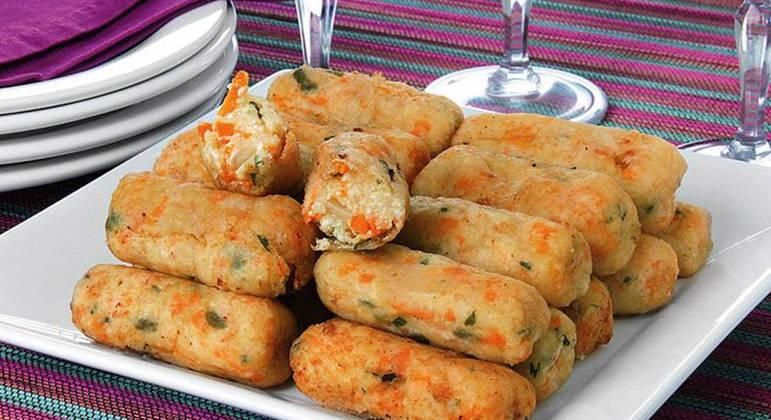 receitas de croquete vegetariano