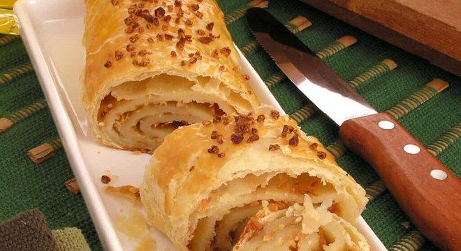 receitas de pão de alho