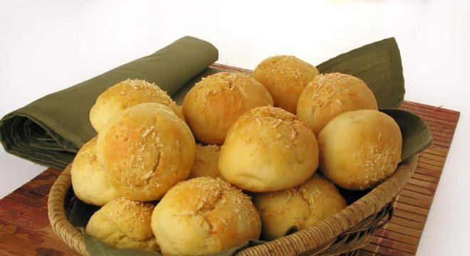 receitas de pão de minuto