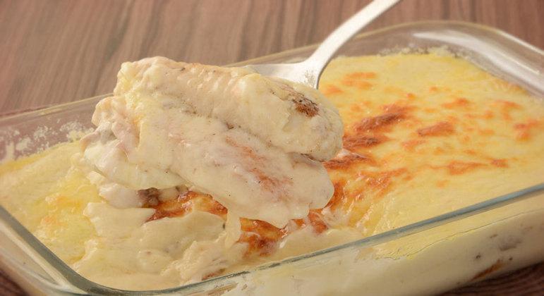 receitas de peixe gratinado