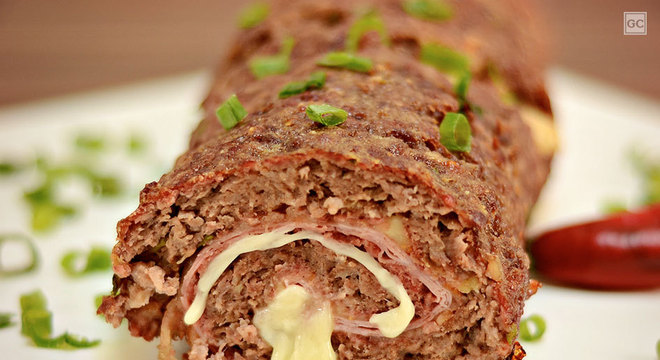 receitas de rocambole de carne