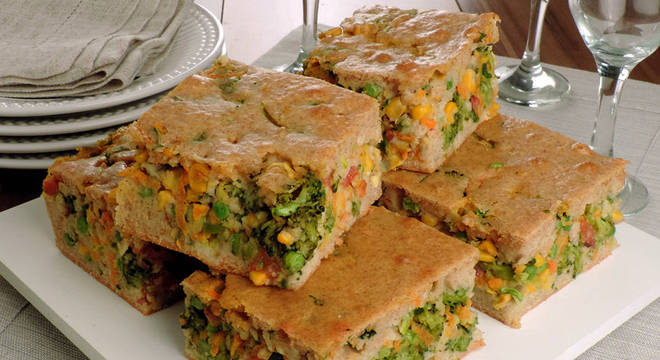 receitas de torta de legumes