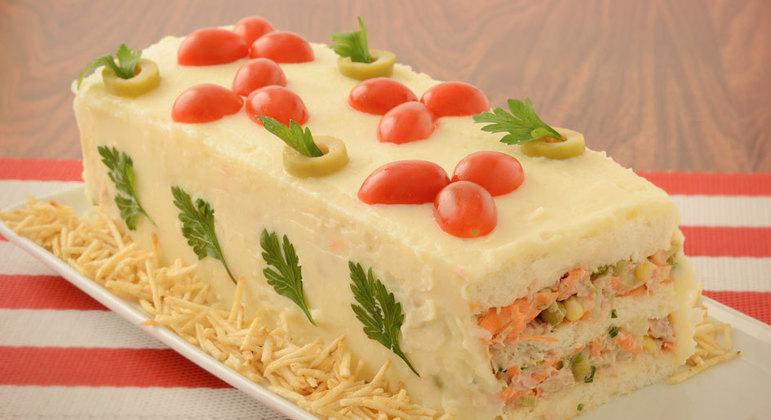 Receitas de torta fria