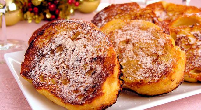 Receitas deliciosas de rabanada para jé entrar no clima do Natal