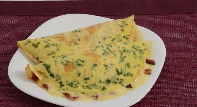 receitas diferentes de omelete