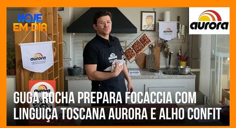 Veja o passo a passo da primeira receita Aurora do Guga Rocha