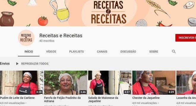 Canal no YouTube quer dar visibilidade para as mulheres no ramo de culinária