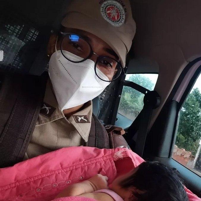 Bebê foi resgatada neste sábado (24)
