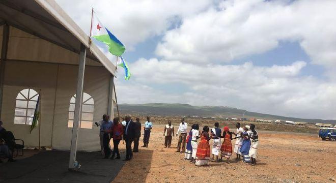 Recepção do projeto em Djibuti