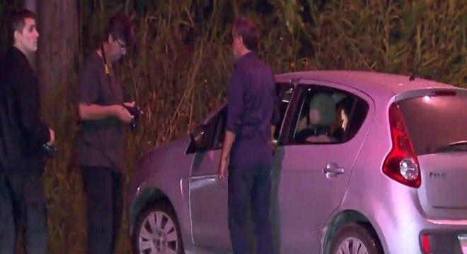 Reconstituição com suspeitos terminou na estrada de terra por volta de meia-noite