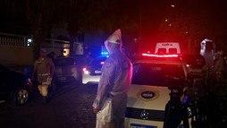 Flordelis e mais 12 pessoas participam de reconstituição que durou cerca de 6 horas (Record TV)