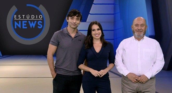 Cristiano Parente, Tainá Falcão e Augusto Scalabrini