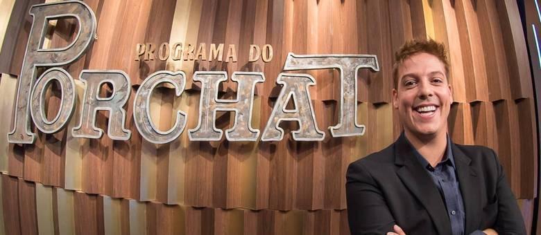 Programa do Porchat vai ao ar de segunda a quinta-feira, a partir da 00h15, na Record TV