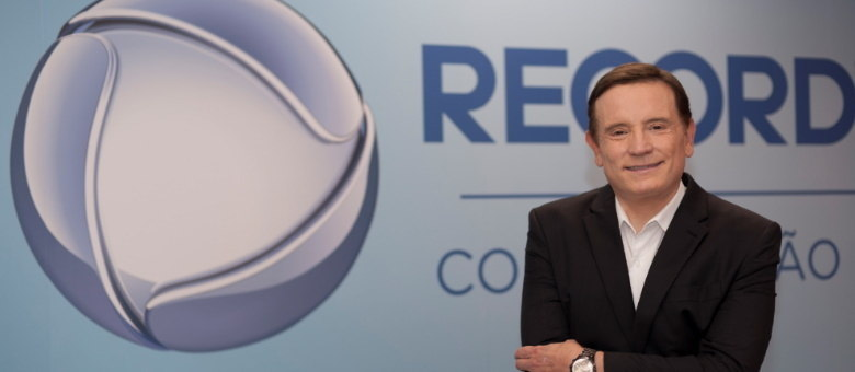 Roberto Cabrini apresentará matérias exclusivas e investigativas no Domingo Espetacular
