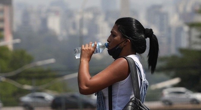 Níveis de umidade ficam em torno dos 30%