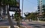 No interior de São Paulo, oito cidades também tiveram temperaturas históricas.Entre estas, destacam-se Lins e Jales, com 41,9°C e 41,7°C, respectivamente – os maiores registros em 14 anos.