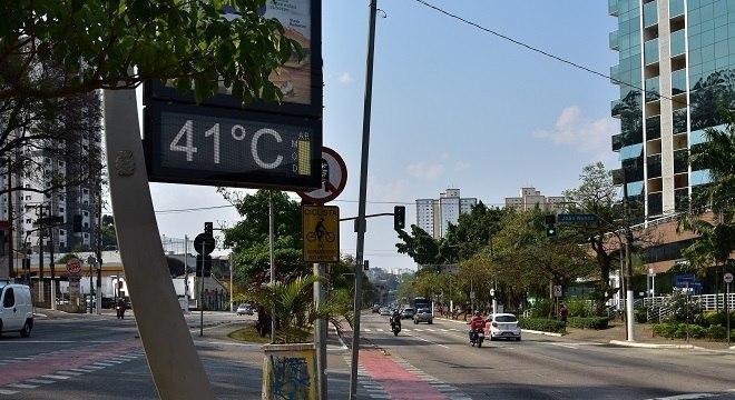 São Paulo pode ter recorde de calor nesta sexta