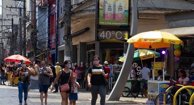 SP alcançou quatro das cinco maiores temperaturas do registro histórico