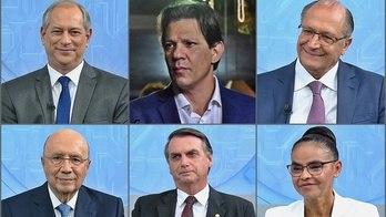 __Pesquisa eleitoral e agenda dos candidatos marcam a 2ª-feira__ (Reprodução)