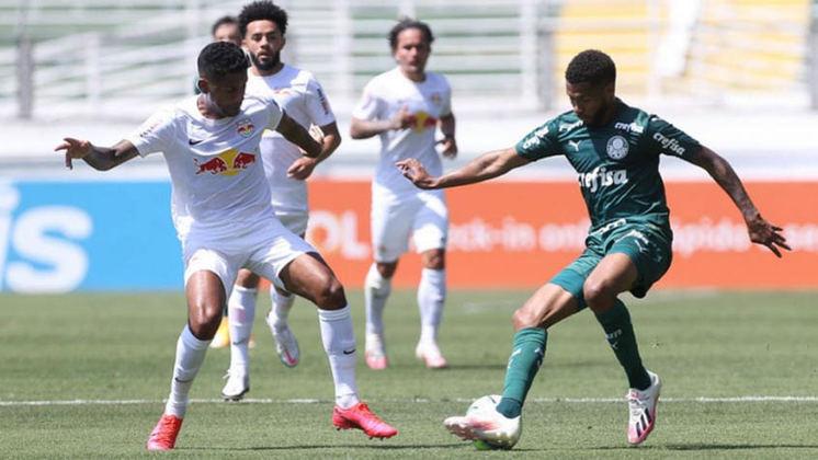 RED BULL BRAGANTINO: Destaque para Artur e Claudinho. Dupla levou perigo ao gol de Weverton e Claudinho marcou o gol dos donos da casa.