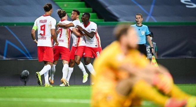 Leipzig 2 X 1 Atlético de Madrid, euforia e desalento