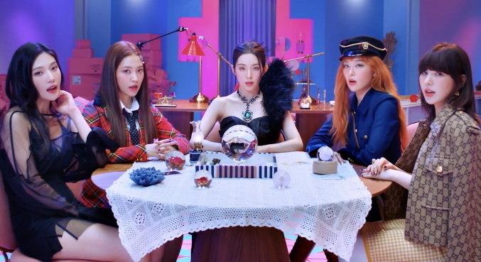 Grupo Red Velvet está de volta com o clipe e o mini-álbum de 'Queendom'