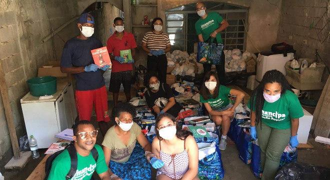 Primeiras etapas da campanha tiveram distribuição de 11 toneladas de alimentos