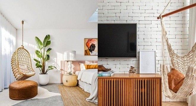 Rede na decoração: 7 opções para criar um cantinho relaxante em casa