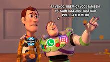 Grêmio, Vasco e Palmeiras viram alvos após queda do WhatsApp