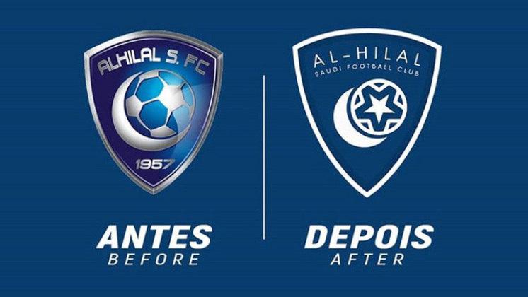 Redesenho de escudos de futebol: Al-Hilal