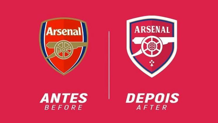 Redesenho de escudos de futebol: Arsenal