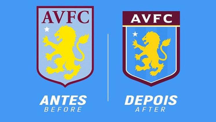 Redesenho de escudos de futebol: Aston Villa