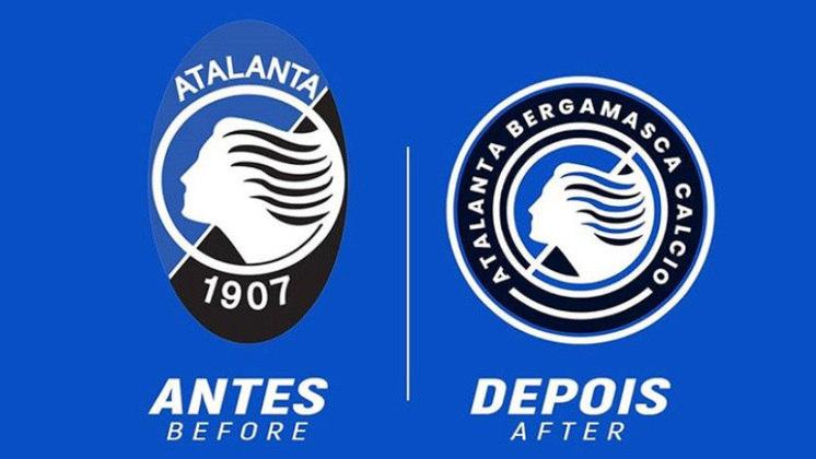Redesenho de escudos de futebol: Atalanta