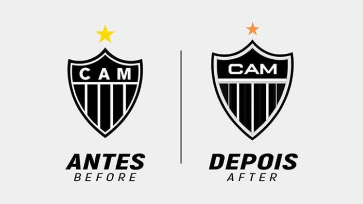 Redesenho de escudos de futebol: Atlético-MG