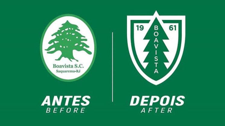 Redesenho de escudos de futebol: Boavista