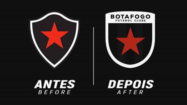 Redesenho de escudos de futebol: Botafogo-PB