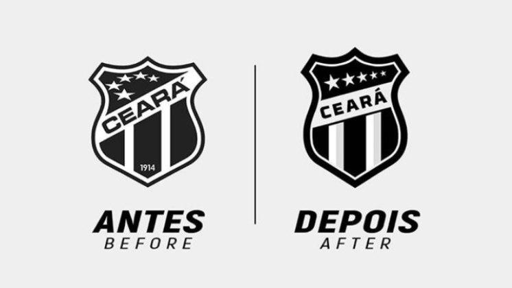 Redesenho de escudos de futebol: Ceará