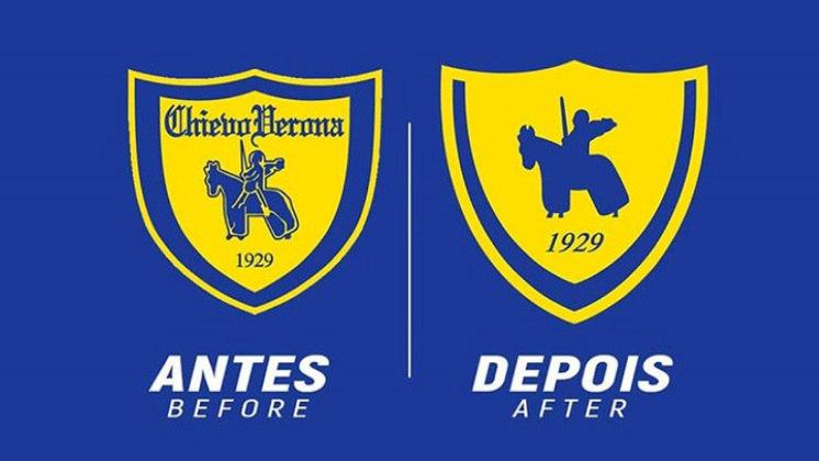 Redesenho de escudos de futebol: Chievo Verona