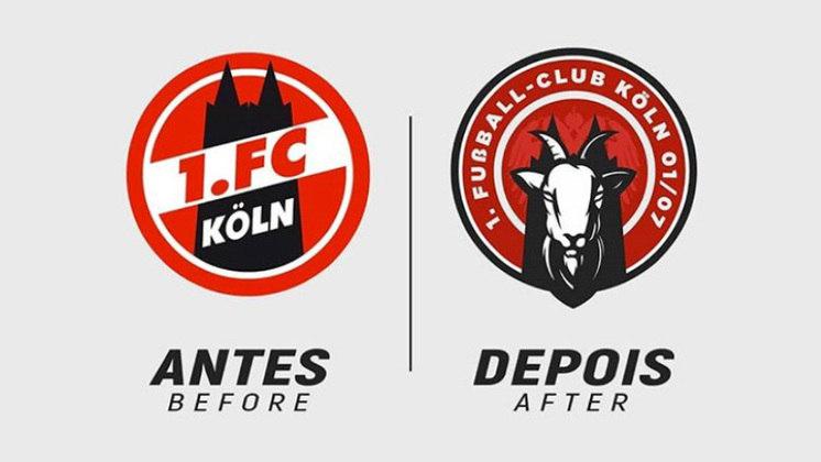 Redesenho de escudos de futebol: Colonia