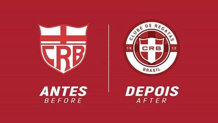 Redesenho de escudos de futebol: CRB