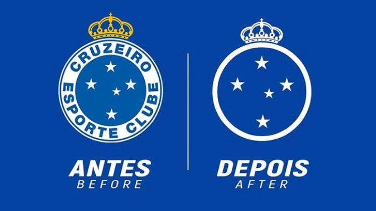 Redesenho de escudos de futebol: Cruzeiro