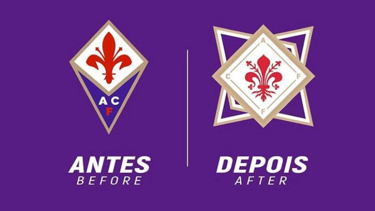 Redesenho de escudos de futebol: Fiorentina