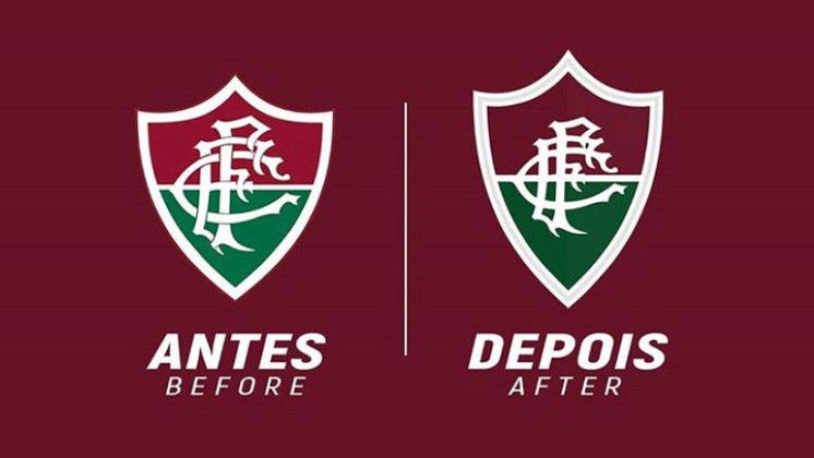 Redesenho de escudos de futebol: Fluminense