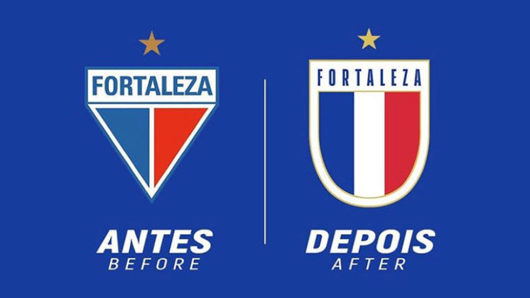 Redesenho de escudos de futebol: Fortaleza