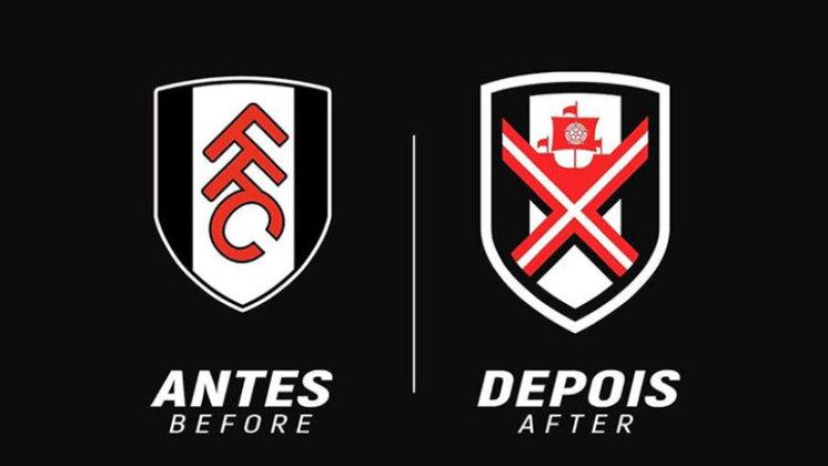 Redesenho de escudos de futebol: Fulham
