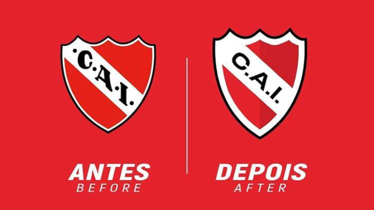 Redesenho de escudos de futebol: Independiente