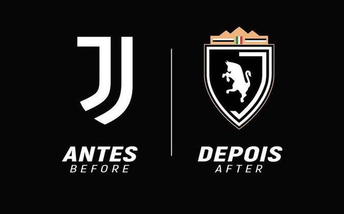 Redesenho de escudos de futebol: Juventus