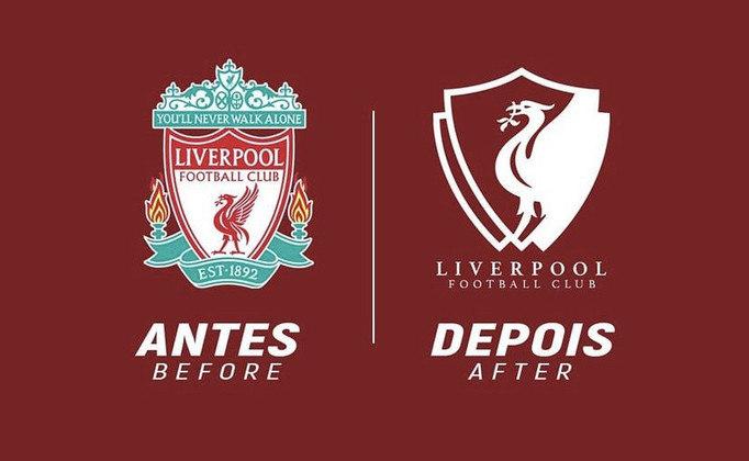 Redesenho de escudos de futebol: Liverpool