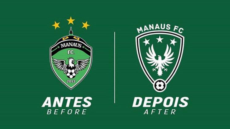 Redesenho de escudos de futebol: Manaus FC